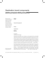 Destination brand components.pdf
