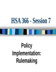 Policymaking Rulemaking.ppt