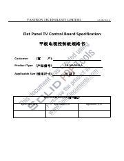 Manual Main board Universal V59 _V1 1 pdf - User's Guide of