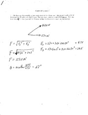 Exam 1 Solution 2012 on Physics 1 with Mechanics