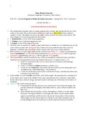 HUI 235 Study Notes 1 - Inferno (1).docx