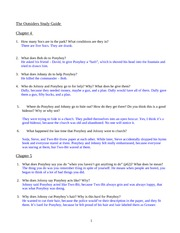The Outsiders Study Guide - Vocab List - Page Word Page ...