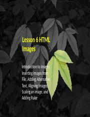 UNIT VI - LESSON 6-7 HTML IMAGES AND BACKGROUND.pptx