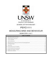2017 S2 PSYC1111Course Outline.pdf