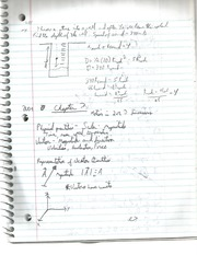 Motion in 2 or 3 Dimentions Notes