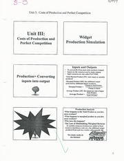 unit 3 notes- costs of production and perfect competition