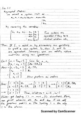 All Notes for Linear Algebra