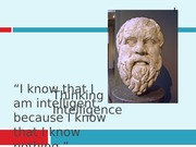 Lecture 8 - Thinking and Intelligence.ppt