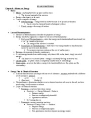 Exam 3 Study Guide--Chapters 6-7