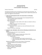 Intro to Linguistic Antrhopology Study Guide 1 with NOTES.docx