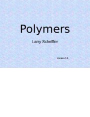 Polymers (1)