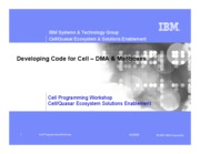 Day1-10_DevelopingCodeforCell-DMAandMailboxes-SDK30