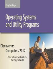 oerating system and utility software