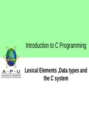 05 Program Structure and construction.ppt