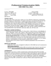 CMS 306M 06790 Syllabus Fall 2012
