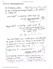Electromagnetic Waves Notes