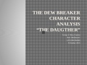 The Dew Breaker Character Analysis (1)
