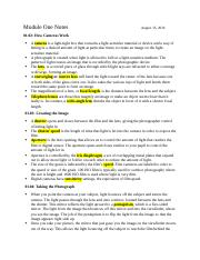 Module One Notes.docx