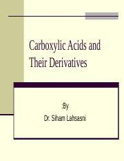 Carboxylic Acids and Their Derivatives.ppt