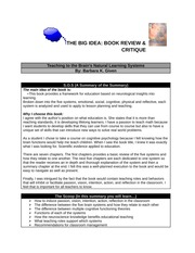 Summary Review Book