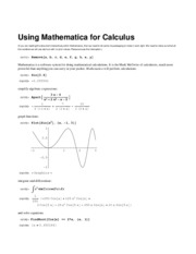 Mathematica_for_Calculus_II
