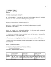 Chapter 2 lecture notes