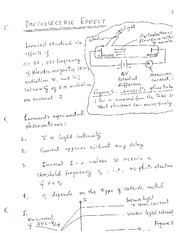 Lecture Notes on Photoelectric Effect, Matter Waves and Particle in a One Dimensional Box