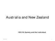 Australia and New Zealand FULL TEXT