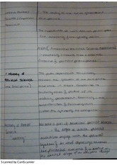 Politcal Science Research Methods Notes