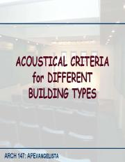 ARCH147_Acoustical Criteria for Different Building Types.pdf