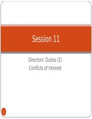 (2015) Seminars 14 and 15 - Directors duties 2 (full)