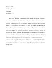 a p araby engl contrast compare essay lost love in araby  1 pages mssi paragraph 1