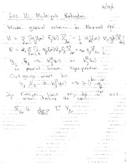 Lecture Notes J on Electricity and Magnetism