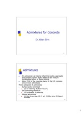 3. Admixtures for Concrete_2
