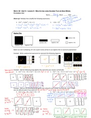 Multiply Visually Polynomial Notes