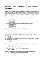 Group 4 Exam Review Questions with answers