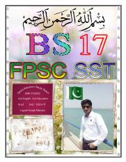 FPSC SST Book for Preparation.pdf