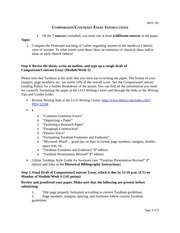 Human Resource Management Mgt 201 Analytical Essay - Term Paper - Meza