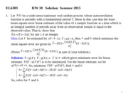 EL6303 Solution to HW 10 Summer 2015