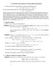Lecture Notes on Initial-Value Problems for Ordinary Differential Equations