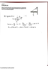 chapter 2 statics of particles,  problem 26