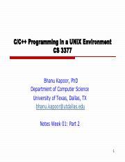 Unix Programming Environment Pdf