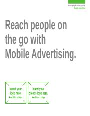 Mobile - Mobile Advertising