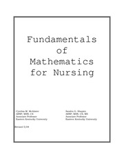 Fundamental of Math for Nurses