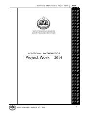 Add. Maths Project Work 2014.doc