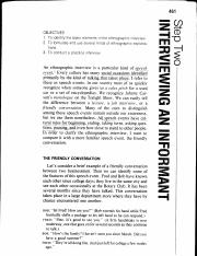 002 PROJECT LITERATURE 01 INTERVIEWS Methods Spradley The Ethnographic Interview Step 2 p461.pdf