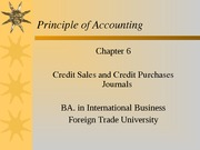 Chapter 6 Credit sales and credit purchases Journals_CLC
