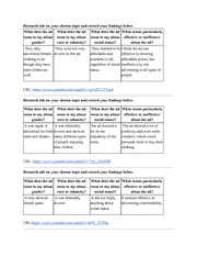 Research Graphic Organizer Part 2