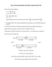 Lecture Notes A on Online Algorithms