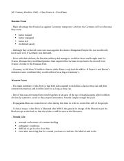 Class Notes 4 _ First Phase